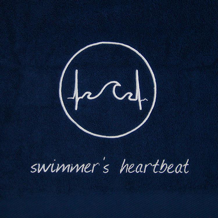 Handtuch Swimmer's Heartbeat Series II