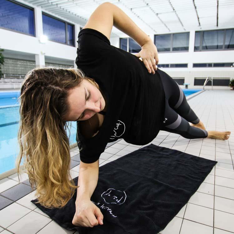 Fitness Handtuch für Schwimmer