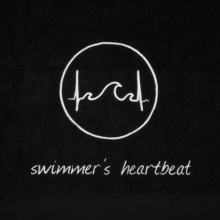 Fitness Handtuch von Swimmer's Heartbeat